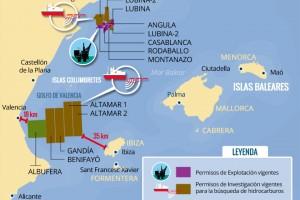 Exploración y explotación de hidrocarburos en la región levantino-balear