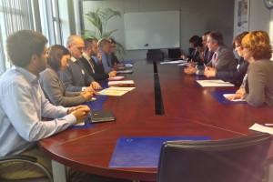 Reunión en DG ENVI. Bruselas. 28 oct 2013