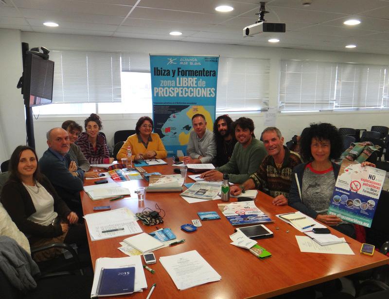 Asamblea General de la Alianza Mar Blava en Formentera