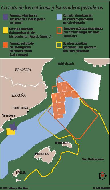 La ruta de los cetáceos y los sondeos petroleros (Anna Monell - LV)