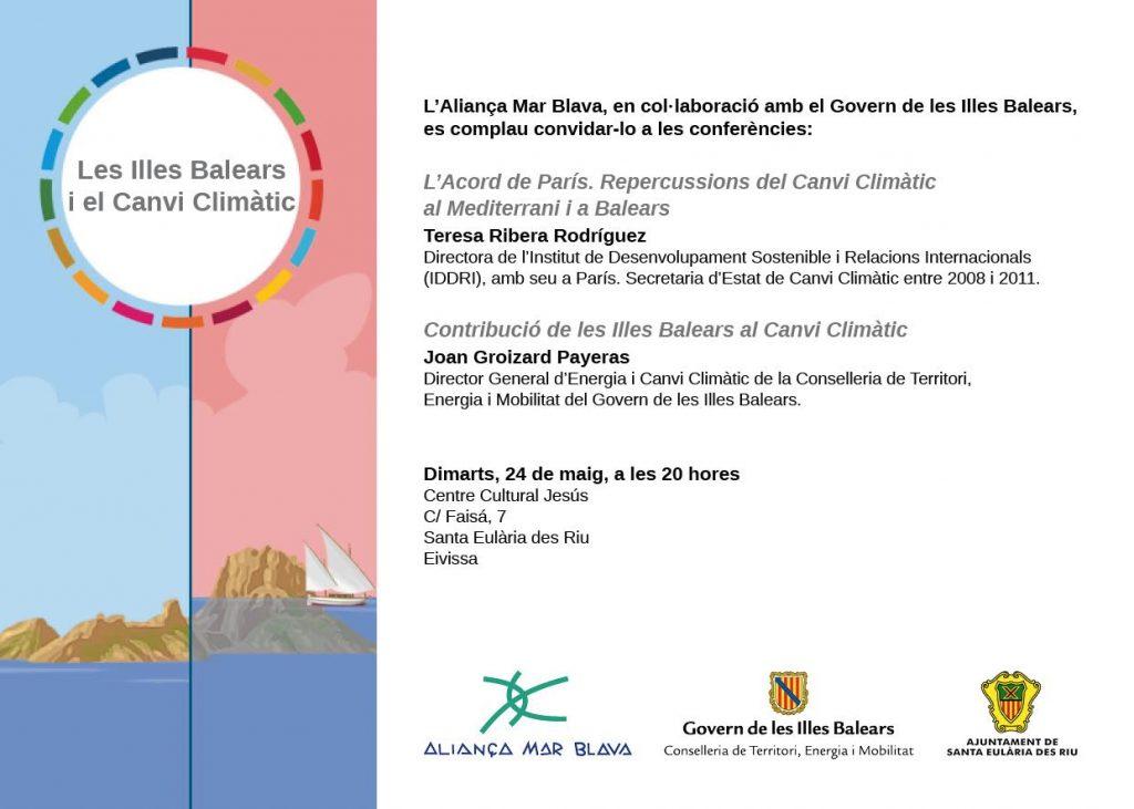 160524 Ibiza vCAT vOK tarjeton jornada - las Islas Baleares y el Cambio Climatico