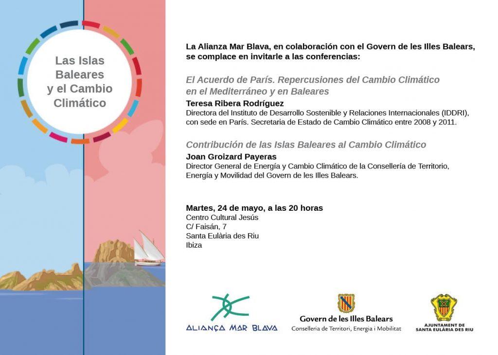 160524 Ibiza vESP vOK tarjeton jornada - las Islas Baleares y el Cambio Climatico