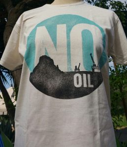 camiseta No Oil